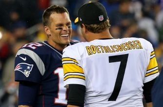 Ben Roethlisberger has Tom Brady's jersey hanging in his office