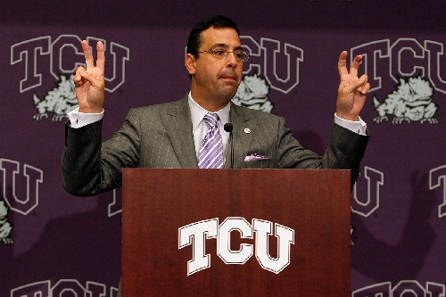 TCU athletic director Chris Del Conte among candidates to replace Greg Byrne at Arizona