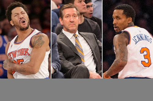 Knicks players are quickly turning on Jeff Hornacek
