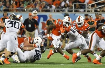 Miami Hurricanes Running Back Gus Edwards Announces Intent to Transfer