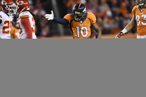 Emmanuel Sanders becomes fifth Broncos player named to the Pro Bowl