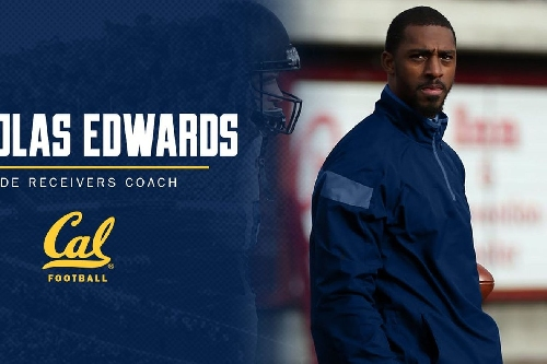 Nicholas Edwards named the new Cal wide receivers coach
