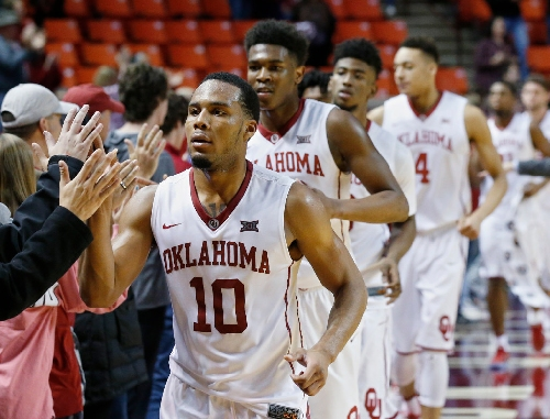 Oklahoma at No. 7 West Virginia basketball live updates
