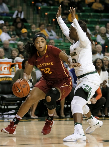 No. 2 Baylor women win 16th straight, 68-42 over Iowa State The Associated Press