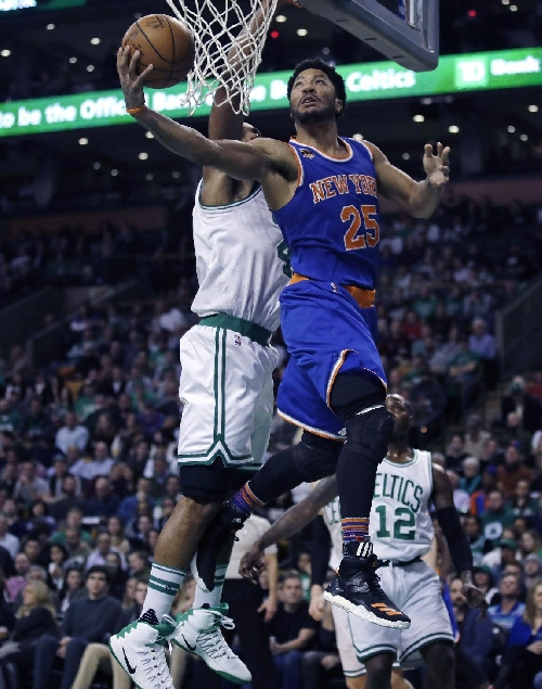 Rose powers slumping Knicks past Celtics 117-106 The Associated Press