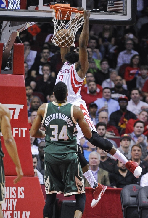 Harden, Rockets beat Bucks 111-92 The Associated Press