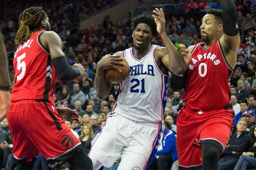 The Sixers Sully the Raptors' Perfect Divisional Record, Win 94-89
