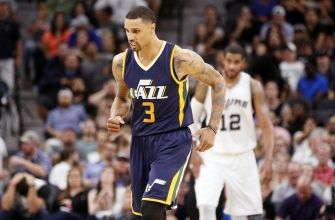 Utah Jazz: Is George Hill in a Slump or Coming Back Down to Earth?