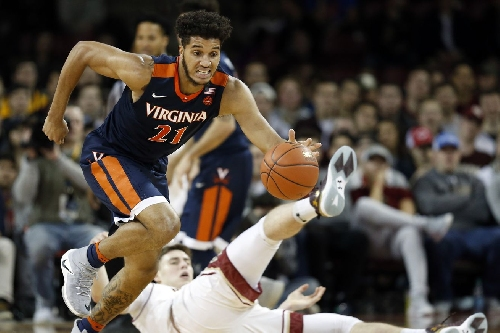 BOSTON COLLEGE MEN'S BASKETBALL FINAL SCORE: Eagles Tripped up by Virginia 71-54