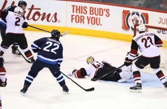 Arizona Coyotes Drop Another, Lose 6-3 To Jets