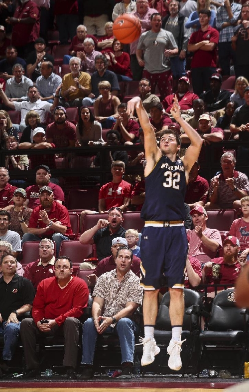 Great 3-point night doesn't mean a win for No. 15 Notre Dame The Associated Press