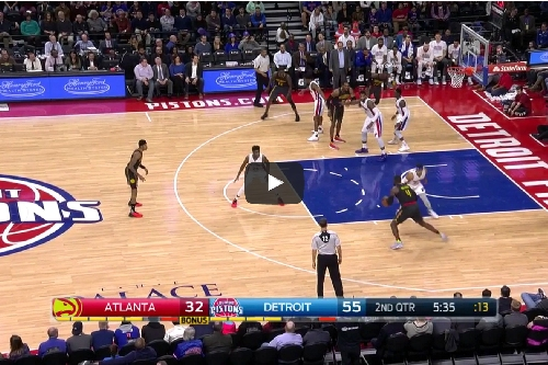 Video: Paul Millsap scores 21 in Hawks loss to Pistons