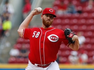 Report: Reds in trade talks with Marlins over Dan Straily