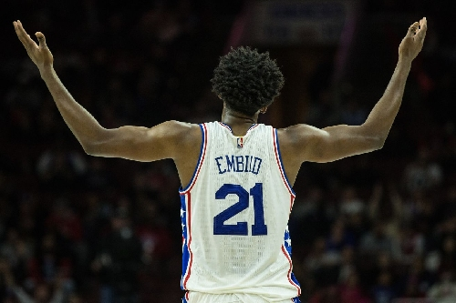 Joel Embiid is playing like a Defensive Player of the Year candidate