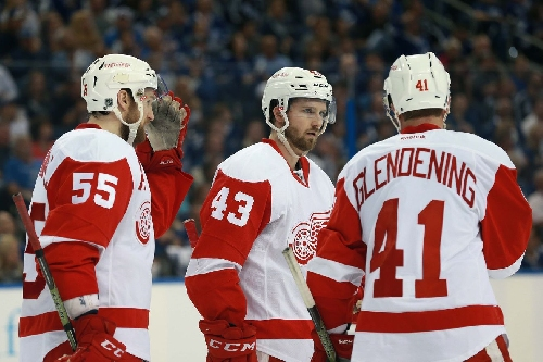 Post-Practice Update: Helm/Kronwall Close to Returning