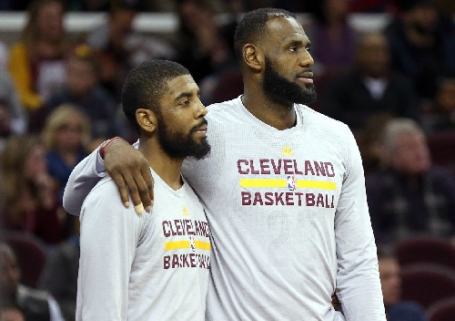 LeBron James, Kyrie Irving named starters for 2017 NBA All-Star Game