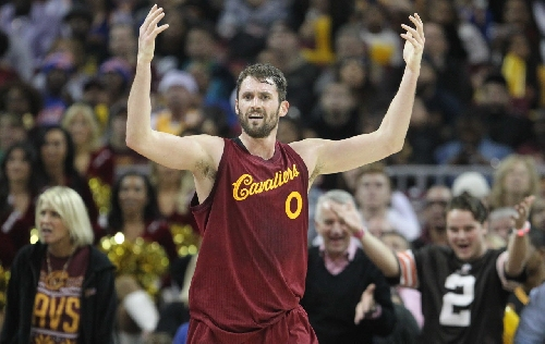Was Cleveland Cavaliers forward Kevin Love snubbed for an Eastern Conference All-Star starting spot? (poll)