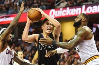 Suns cannot climb out of early hole, fall to Cavaliers