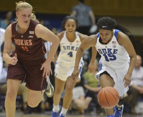 Duke women beat Virginia Tech for 23rd straight time