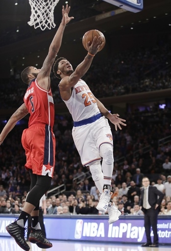 Wall has 29 points, 13 assists as Wizards top Knicks 113-110 The Associated Press