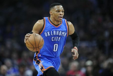 Westbrook a notable omission in voting for All-Star Game