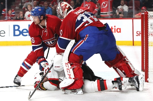 Devils thinking revenge vs. Canadiens for Carey Price punching Kyle Palmieri?