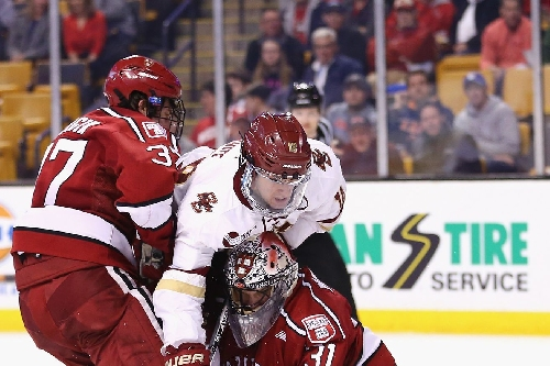 Eastern Bias Hockey Podcast Breaks Down BC vs. BU and interviews UConn coach Mike Cavanaugh!