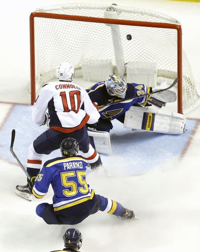 Blues call up goalie Copley from minors