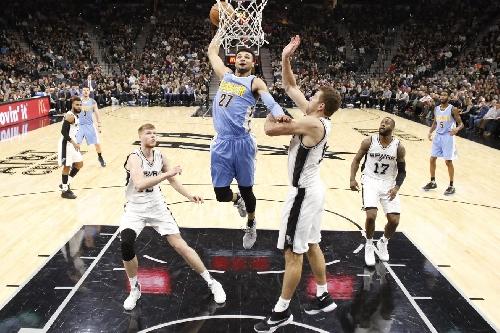 Watch: Jamal Murray had a vicious dunk last night