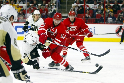 Carolina Hurricanes vs. Pittsburgh Penguins: Lines and Rosters