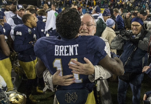 RB Justin Brent will transfer from Notre Dame
