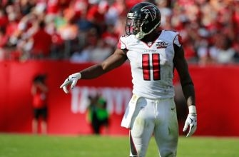 Julio Jones Ready to Rock and Roll For Atlanta Falcons