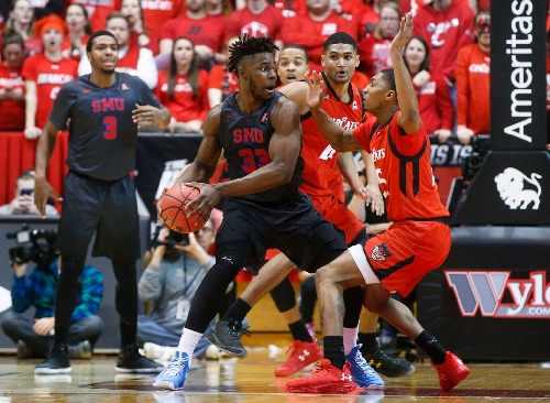 Semi-tough: After two years out of basketball, how SMU's Ojeleye became one of best players in AAC