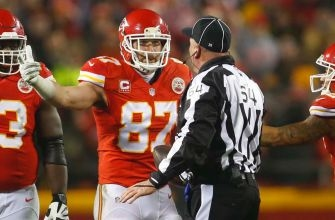 Travis Kelce fined $12.5K for referee comments following loss to Steelers
