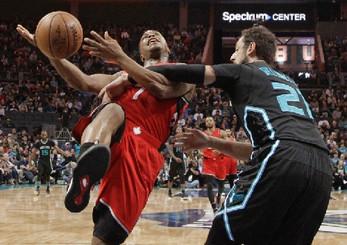 Raptors come out flat once again, get drubbed by Hornets