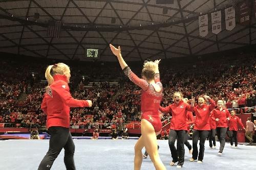 Utah Gymnastics Hosts Quad Meet Tonight