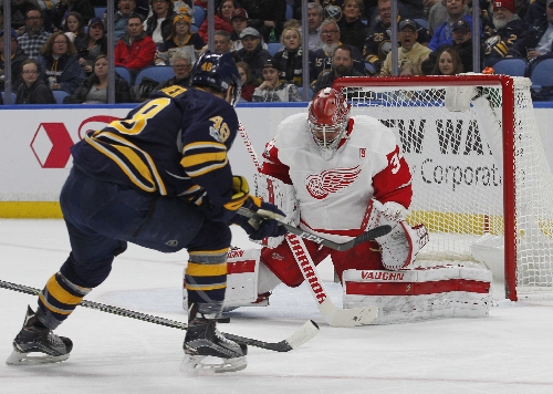 Red Wings fall in OT as three-game winning streak snapped