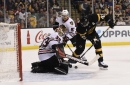Blackhawks vs. Bruins final score 2017: Hossa's late goal lifts Chicago to 1-0 victory