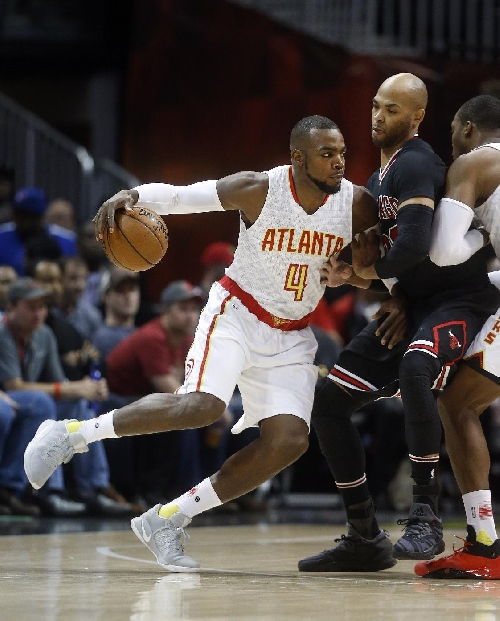 Schroder, Millsap pace Hawks' 102-93 win over Bulls The Associated Press