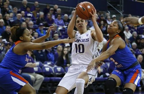Jackie Stiles rooting for Washington star Kelsey Plum to break Stiles' NCAA scoring record