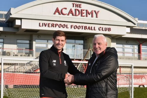 Blood Red - Steven Gerrard takes first step on road to becoming Liverpool boss