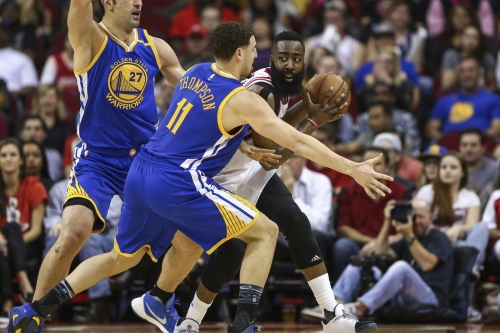 Warriors Top Rockets in Houston, 125 - 108