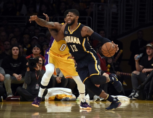 No comeback this time. Lakers put sloppy Pacers away