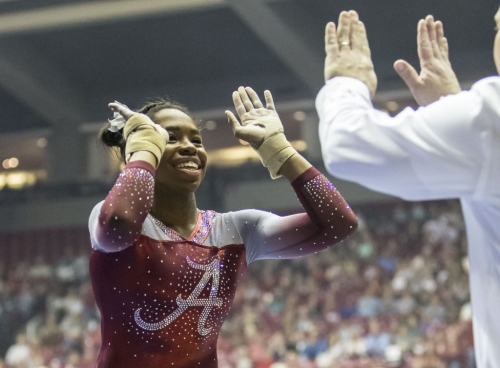 Alabama rebounds from 'very shaky start' en route to win