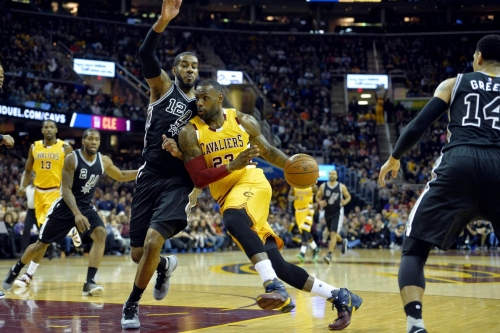 Game Preview: San Antonio Spurs at Cleveland Cavaliers