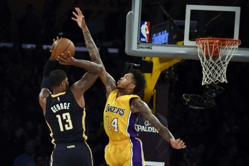Brandon Ingram earns Paul George comparison in Lakers' win over Pacers