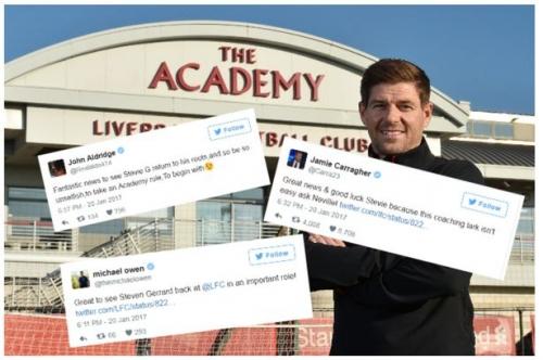 Liverpool fans and legends react to Steven Gerrard's return