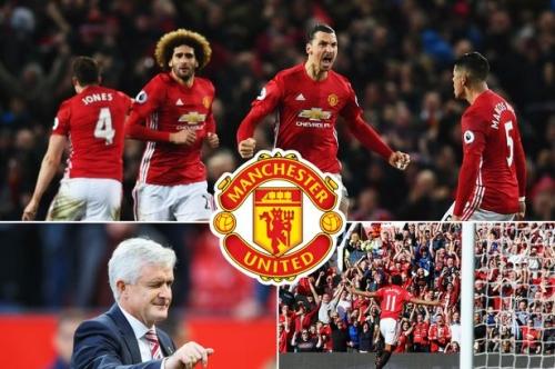 Stoke City vs Manchester United LIVE score and goal updates