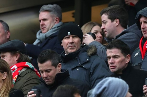 Hollywood star Will Ferrell at Anfield for Liverpool's visit from Swansea