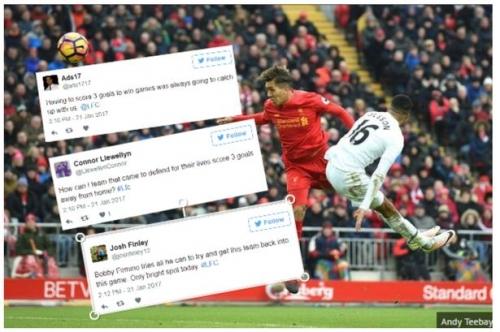 Liverpool 2-3 Swansea: Fans react as Reds' 12-month unbeaten streak ends at Anfield